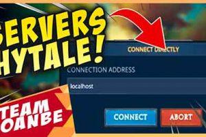 Jugar con amigos en servidor Hytale